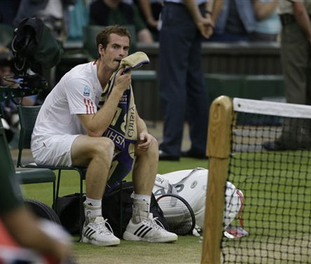 Murray to take a break from tennis after Wimbledon heartache