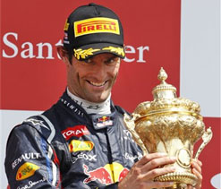 British GP win takes Webber closer to new £6m per year contract with Red Bull