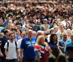 London Olympics 2012: 2.1 million attend first 3 days of Games