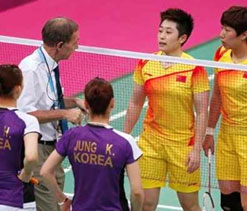Olympic badminton: Eight players disqualified for fixing