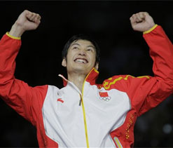 Olympics: China`s Lei Sheng wins foil gold