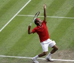 Federer reaches Olympics quarterfinals