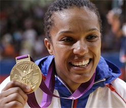 Gold for France`s Decosse in women`s 70 kg judo