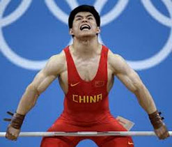 Olympic Weightlifting: China`s Lin Qinfeng lifts 69-kg gold