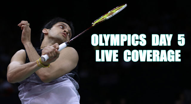 London Olympics Day 5: Highlights
