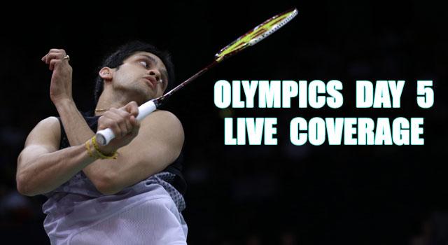London Olympics Day 5: Highlights