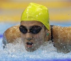 London Olympics 2012 swimming: Stephanie Rice considers quitting swimming