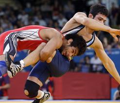 London Olympics 2012 Wrestling: Amit Kumar vs Radoslav Marinov Velikov- As it happened...