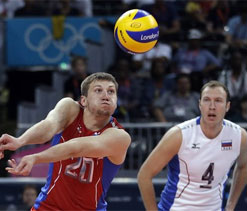 Olympic volleyball: Russia defeat Bulgaria to reach final
