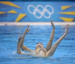 Olympic swimming: Russia clinch synchronised team title fourth time