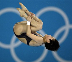Olympic diving : Chen retains 10m diving title in style