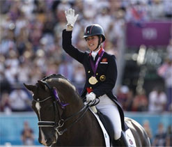 London Olympic equestrian: Dujardin prances to dressage gold for Britain