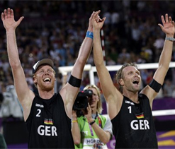 Olympic beach volleyball: Germany beats Brazil for its maiden gold