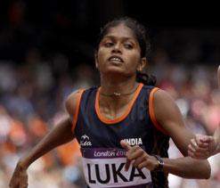 London Olympics Athletics: India's Tintu Luka fails to make 800m final
