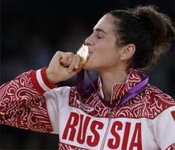 Olympic wrestling: Russian Vorobieva pins down gold