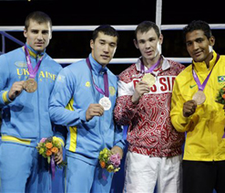 London Olympics boxing: Light heavyweight gold for Russia`s Mekhontsev