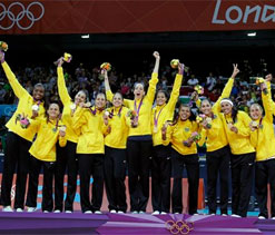 London Olympics 2012 Volleyball: US settles for silver in women`s volleyball