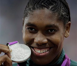 London Olympics 2012: A silver will do for now, for Semenya