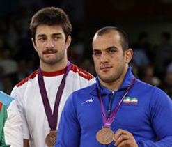 Olympics 2012 wrestling: Bronze medals for Georgia and Iran