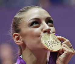 London Olympics gymnastics: Russia win rhythmic gymnastics gold