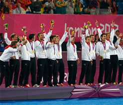 London Olympics 2012 Hockey: Germany beat Netherlands 2-1, retain title