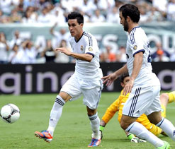 Callejon and Benzema ensure straightforward win for Real Madrid