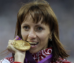 London Olympics athletics: Russia`s Savinova wins gold in women`s 800m