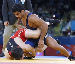 London 2012 Olympics Wrestling: Sushil Kumar in final, to contest for gold medal