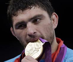 London Olympics wrestling: Gold for Azerbaijan`s Sharifov