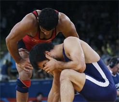 London Olympics wrestling: Sushil Kumar defeats defending champion, in quarterfinals