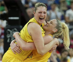 Olympic basketball: Australia thrashes Russia for women`s bronze