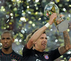 German Supercup: Bayern Munich defeat Borussia Dortmund 2-1 to claim title