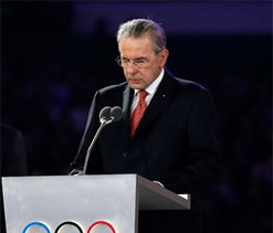 Jacques Rogge terms London Olympics `happy & glorious`