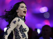 Jessie J performs during the Closing Ceremony at the 2012 Summer Olympics, Sunday, Aug. 12, 2012, in London
