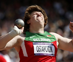 London Olympics: Belarusian Shot Putter stripped of gold medal, dope test positive
