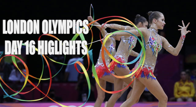 2012 London Olympics: Day 16 highlights