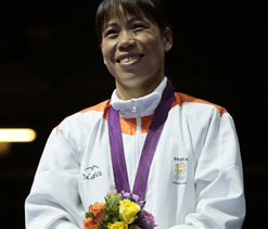 London bronze medalist Mary Kom to get Rs 40 lakh from NEC
