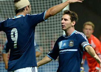 Germany 1-3 Argentina: Messi on target as 10-man Germany collapse
