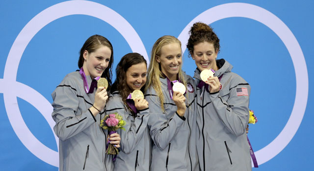 How women athletes made history at London Olympics