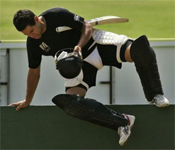 NZ cricketers arrive for India series