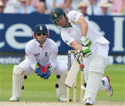 Lord's Test: South Africa set England a target of 346 runs