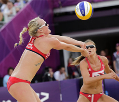 Beach volleyball a hit among UK women after Olympics