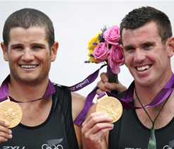London Olympics: New Zealand wins Olympic gold in men`s double sculls