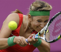 Olympics 2012 tennis: Azarenka reaches semifinals