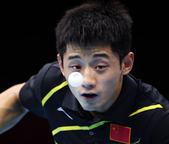 Olympics 2012: China secures another gold in table tennis