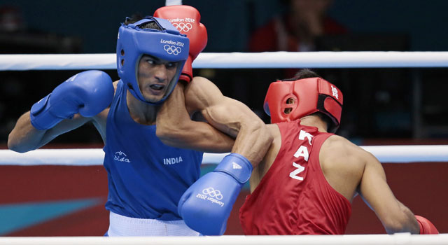London Olympics 2012 Boxing: Jai Bhagwan knocked out
