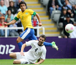 London Olympics 2012 football: Brazil eliminate New Zealand
