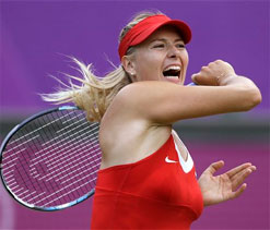 Olympics 2012 tennis: Maria Sharapova ousts Lisicki for Clijsters quarterfinal