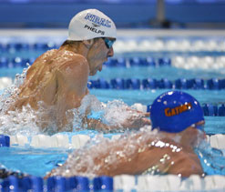 London Olympics Swimming: Phelps, Lochte showdown in 200m medley