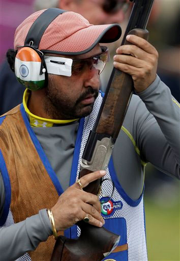 London Olympics 2012 Shooting: Ronjan Sodhi crashes out